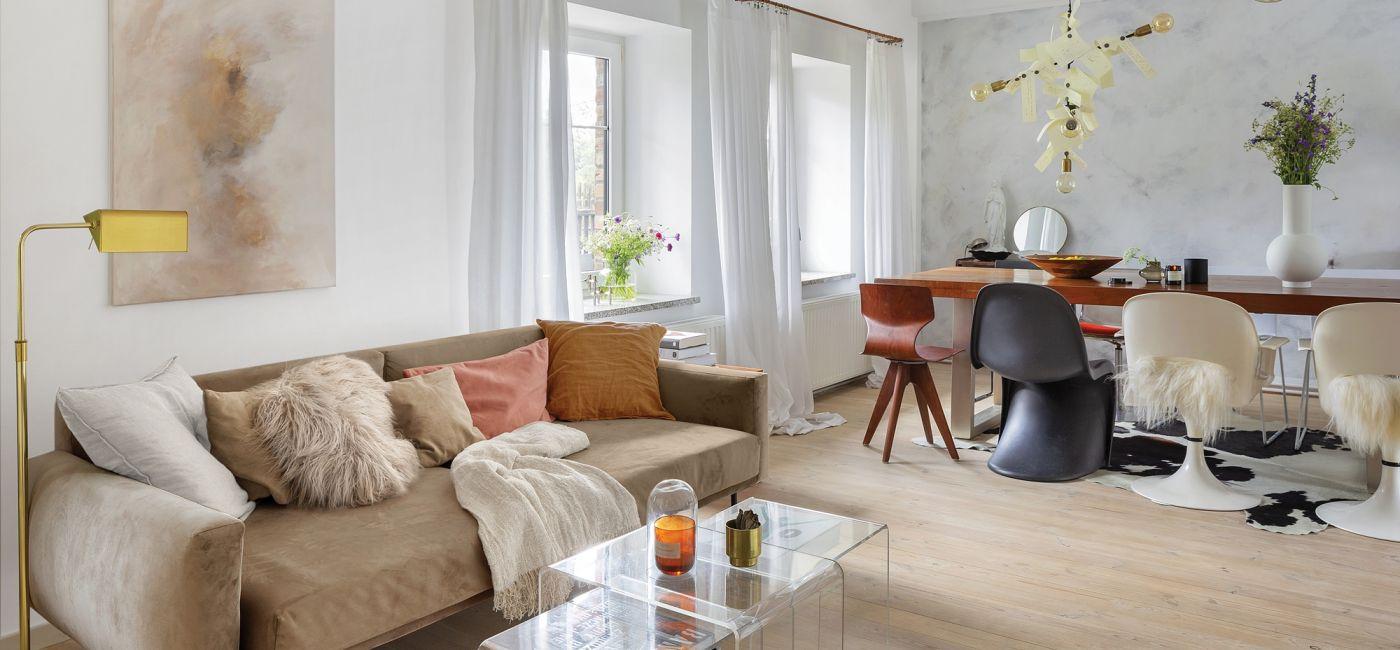 salon w stylu skandynawskim zdjęcia