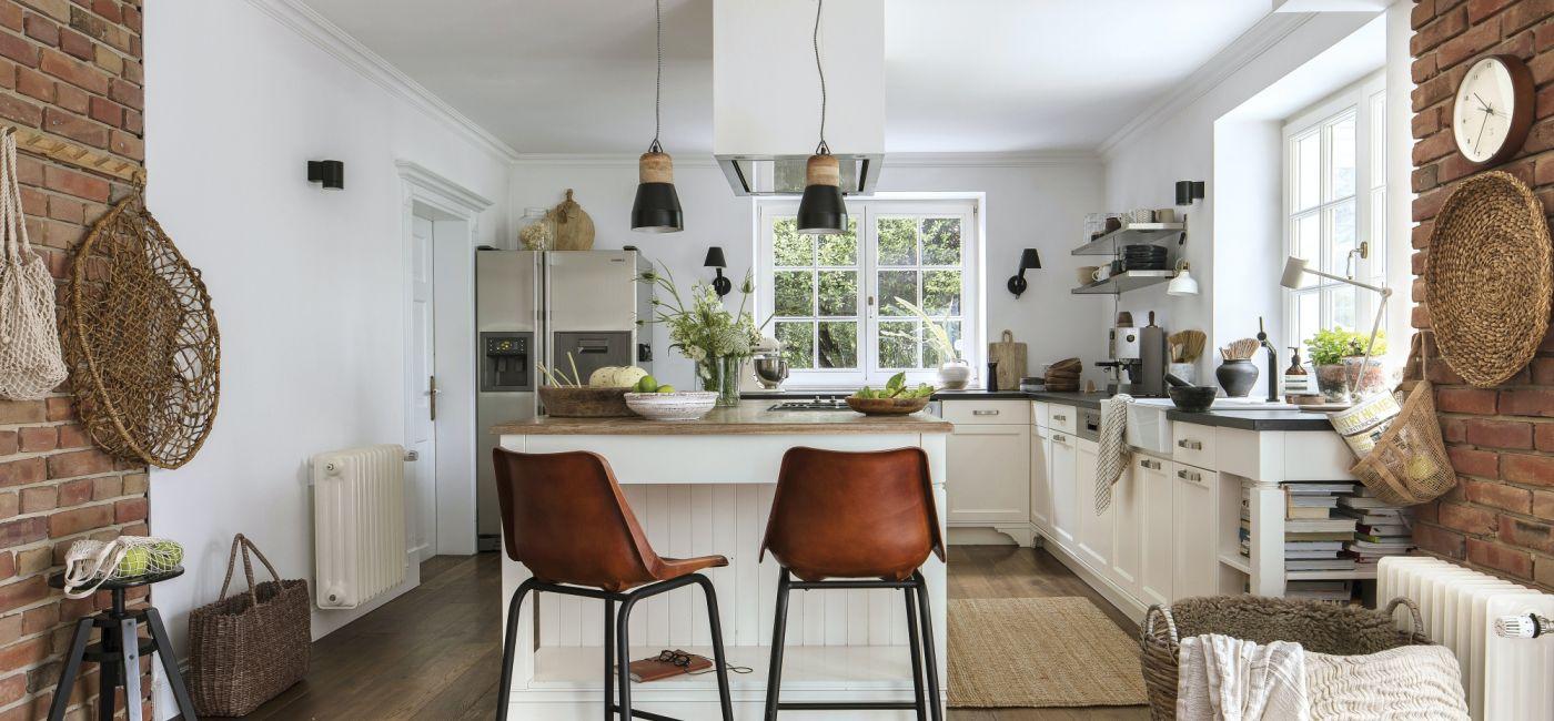 dom w stylu angielskim i skandynawskim