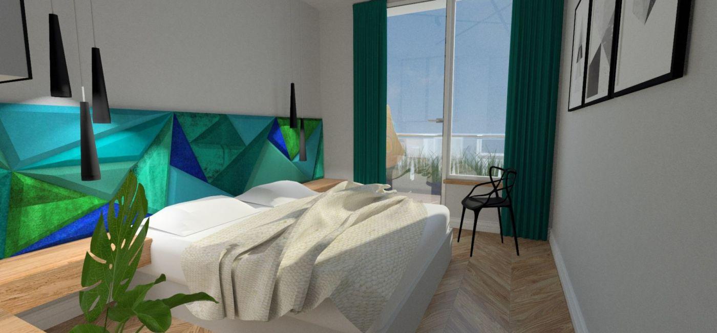 Projekt sypialni Anna Burkat. Konkurs CREATOR. Znamy już 5 laureatek wiosennej edycji