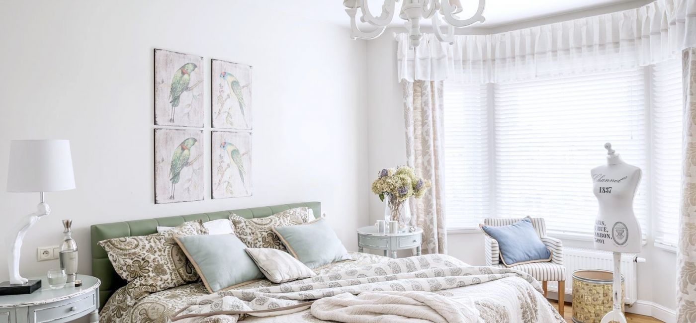 Biała sypialnia - meble, dodatki, aranżacje