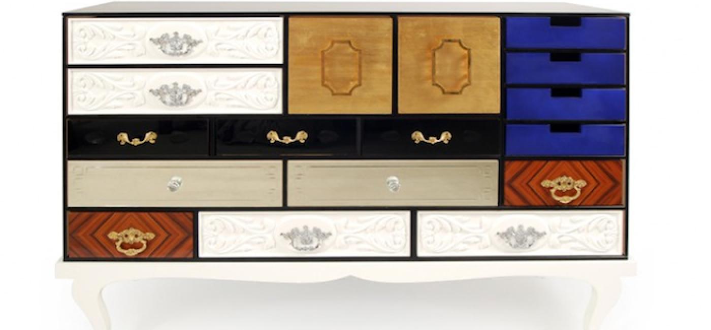 Czy komoda może mieć każdą szufladę inną, niedopasowane uchwyty i mimo to zachwycać swoim wyglądem?