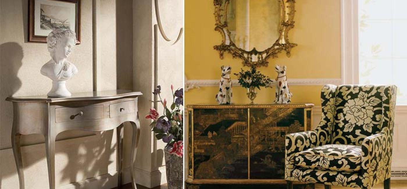 Elegancka konsola Sagomato to dobry pretekst, żeby na dłużej zatrzymać się w holu. Ta pokryta jest srebrną emalią i