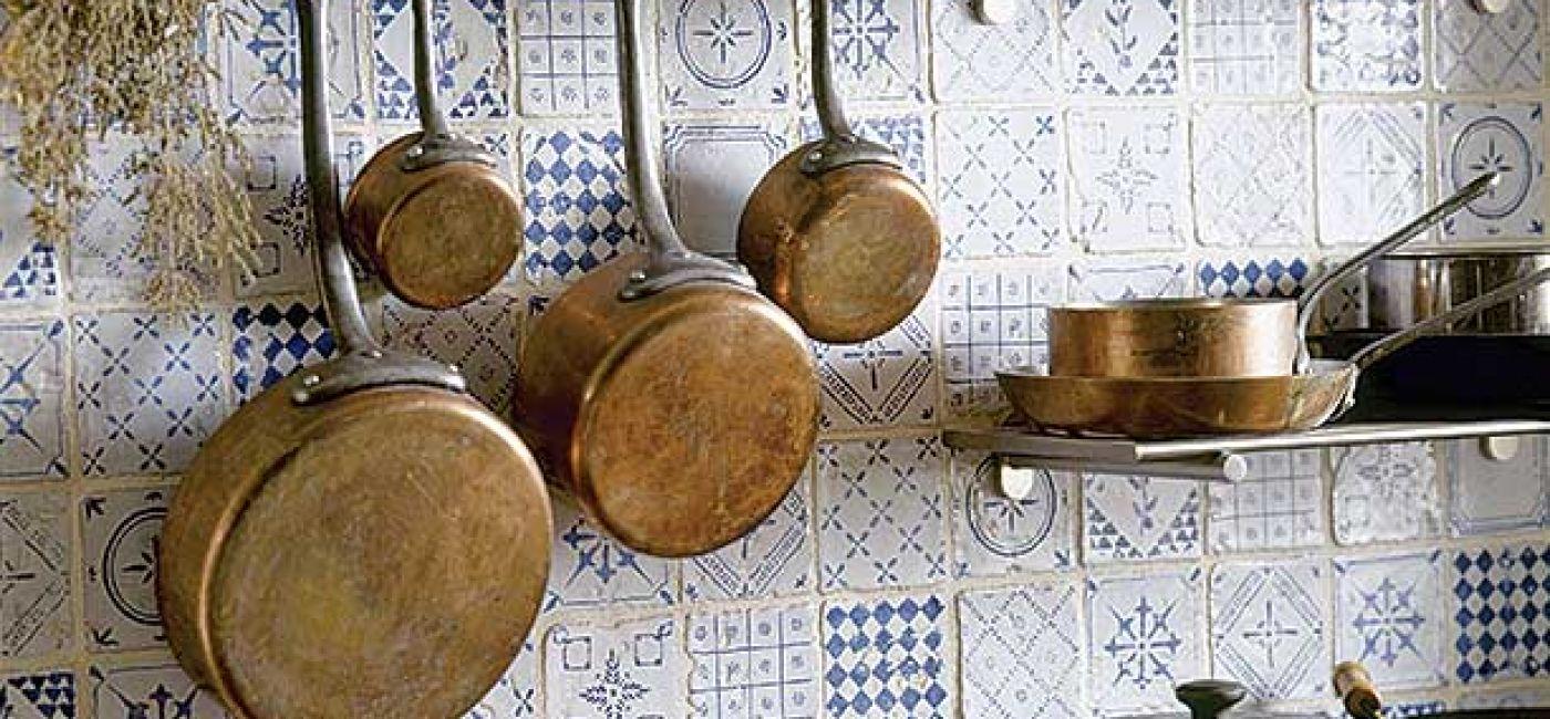 Miedziane naczynia