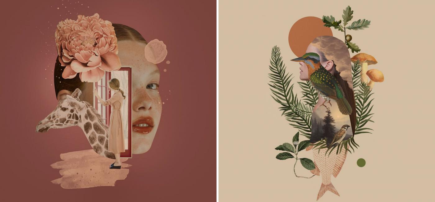Układanki ze wspomnień – kolaże Aleksandry Morawiak