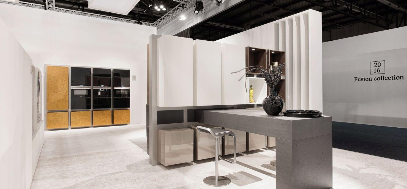 Trendy kuchenne na EuroCucina 2016 w Mediolanie