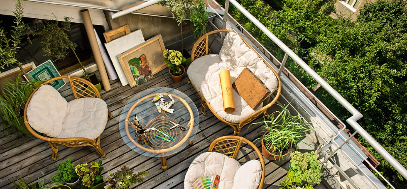 Kwiaty na balkon z czterech stron świata