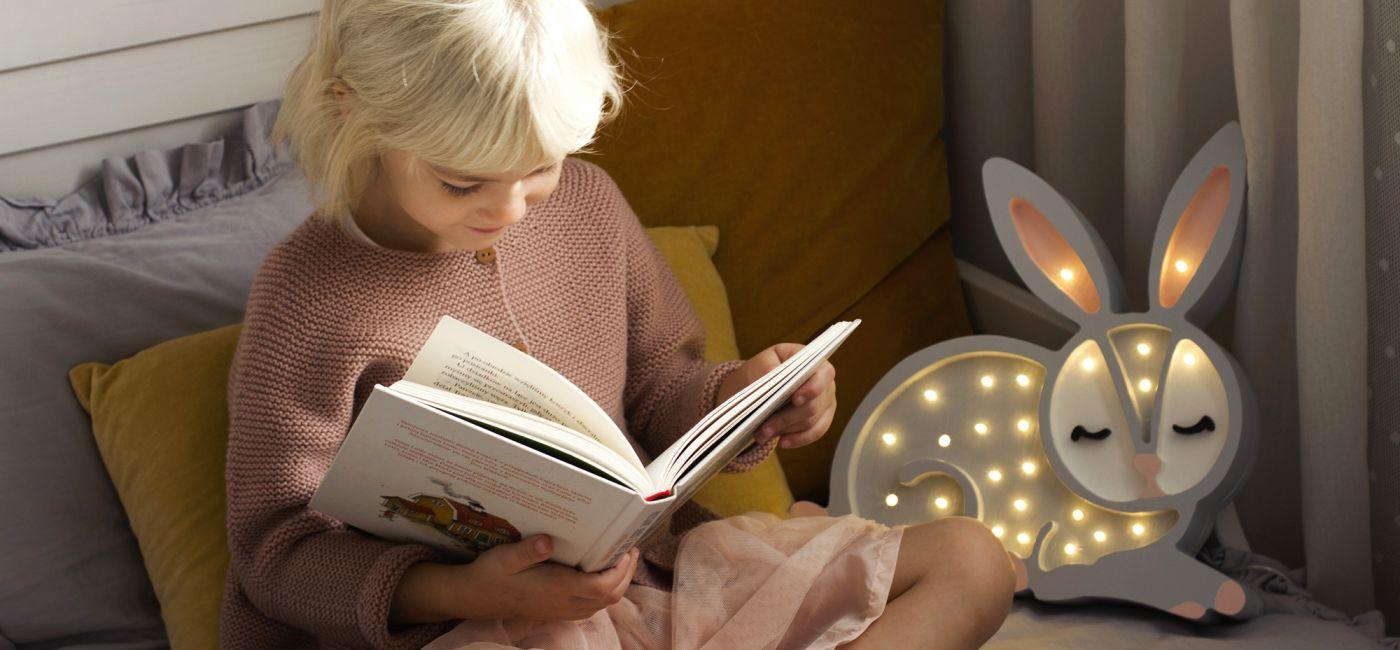 królik lampa nocna dla dzieci