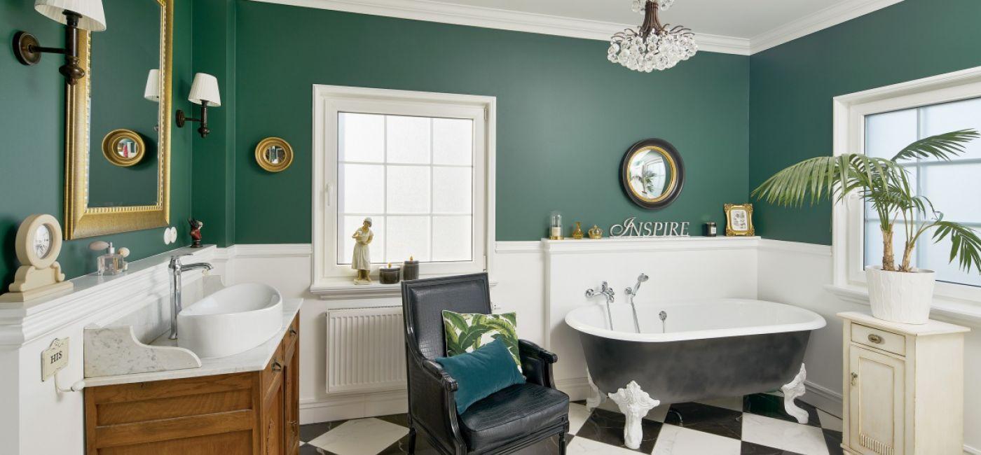 łazienki retro zdjęcia
