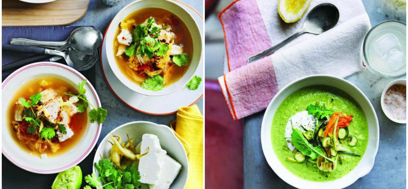 Lekkie, proste i pożywne zupy na letnie upały