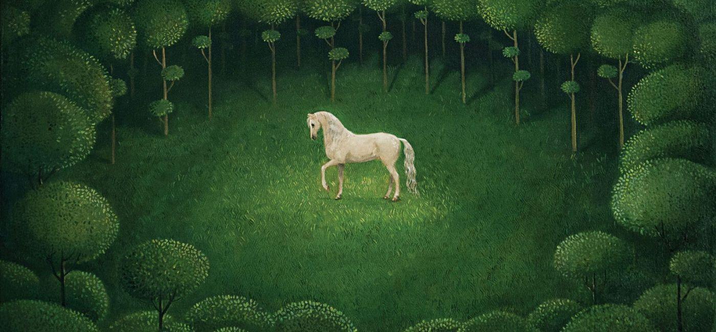 Malwina de Brade Biały koń. Malwina de Brade - malowane baśnie
