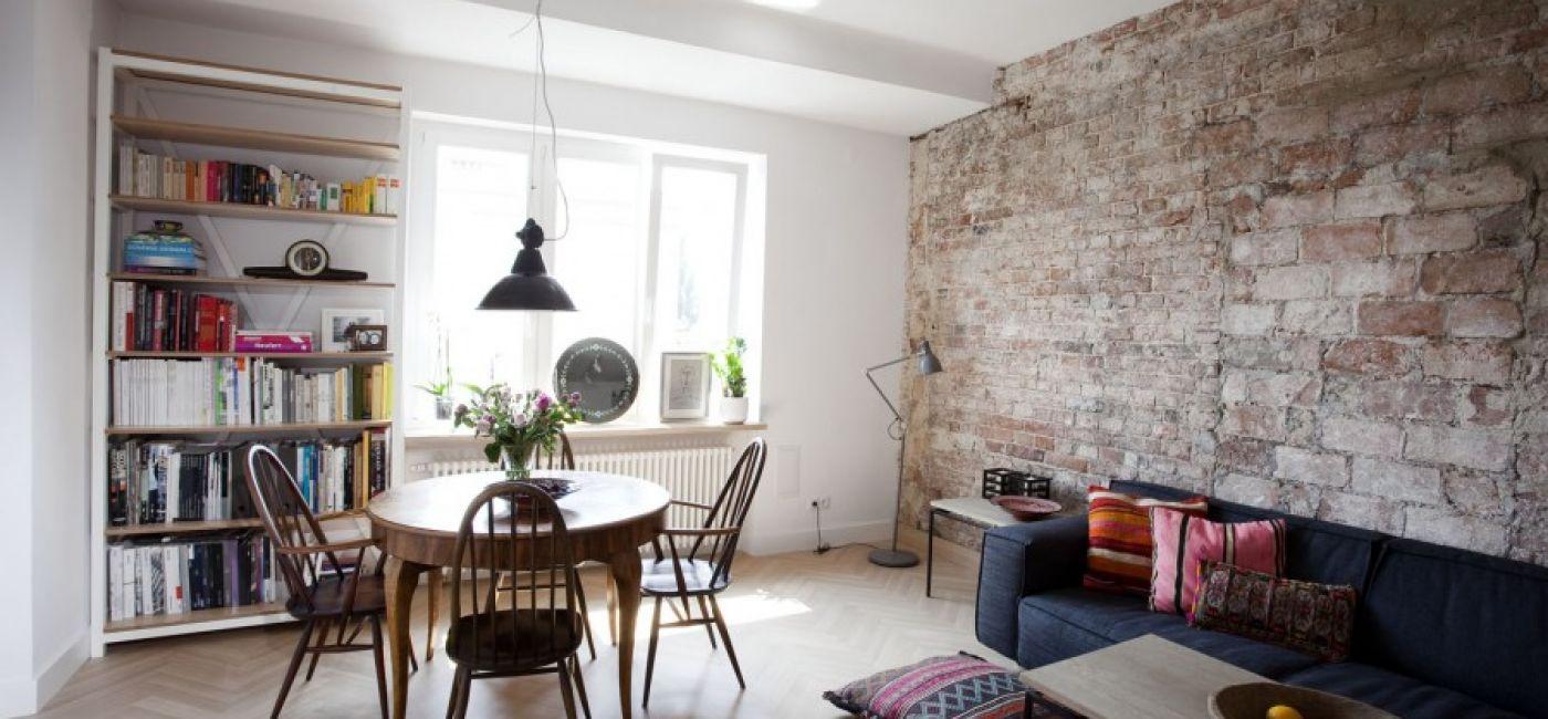 Mieszkanie o powierzchni 53 m2 w sercu warszawskiego Powiśla.