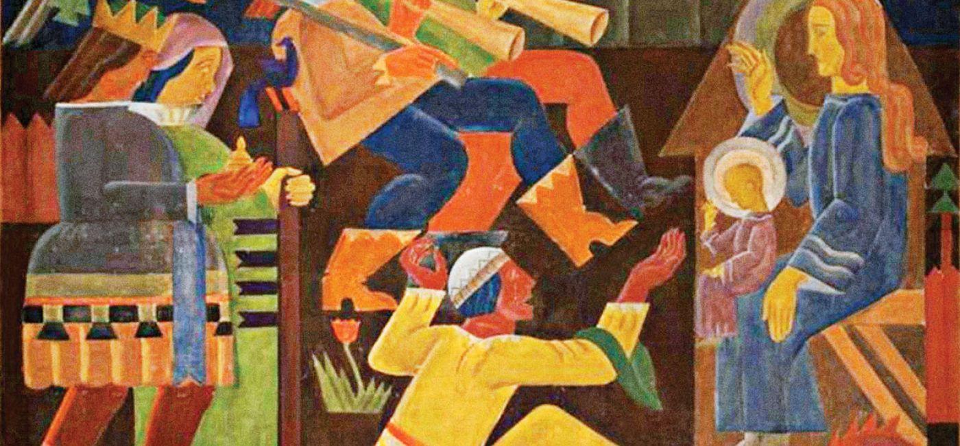 Teresa Roszkowska, Pokłon trzech króli , ok. 1925 r.