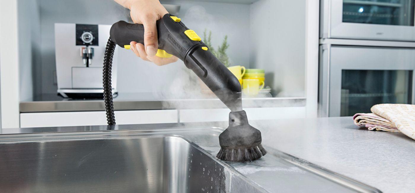 Myjka parowa do sprzątania domu