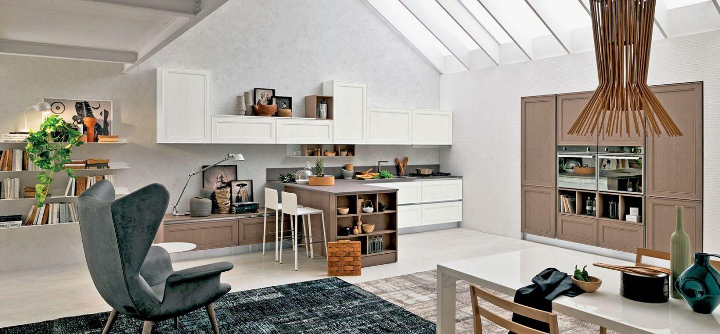 MAXIM, kolekcja nie tylko szafek kuchennych, kupimy też różnej wielkości półki, nawet takie na książki, STOSA CUCINE.