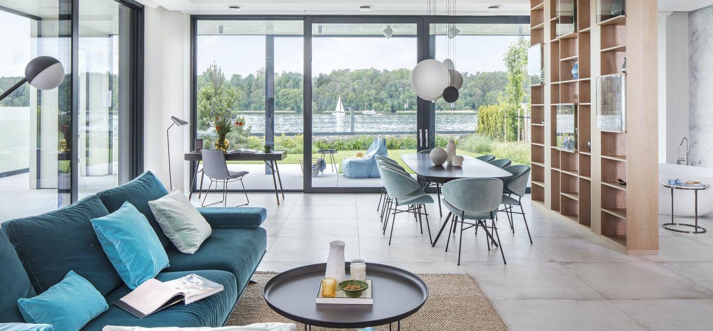 nowoczesne wnętrza domów jednorodzinnych