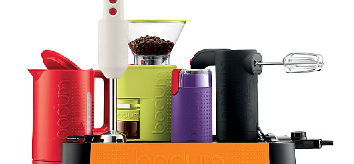 O parzeniu kawy i herbaty Bodum wie wszystko, bo wyprodukował 100 milionów kafetierek i 30