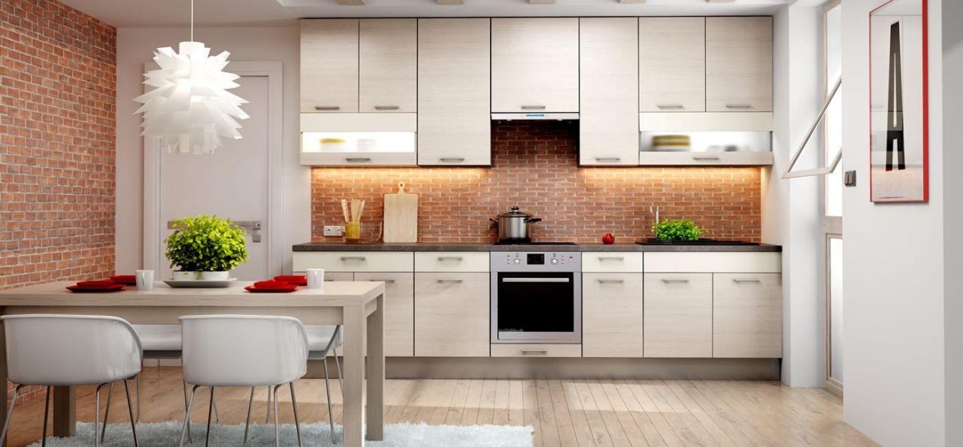 Ściana nad blatem w kuchni - 5 pomysłów na aranżację