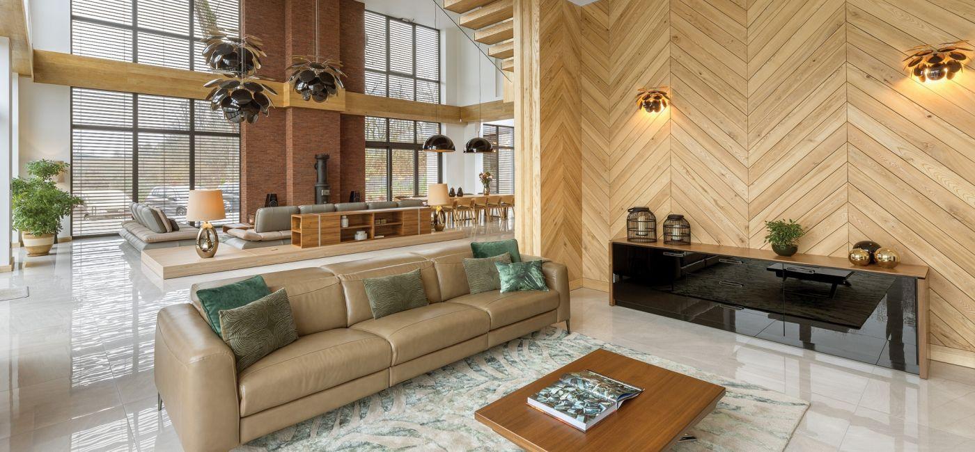 W zabytkowej przepompowni: 700-metrowy dom urządzony w starym budynku