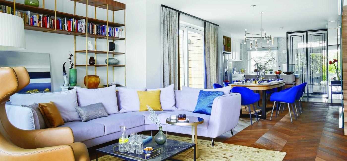 Ten stylowy i nowoczesny dom dla musiał być nie tylko piękny, ale też przestronny