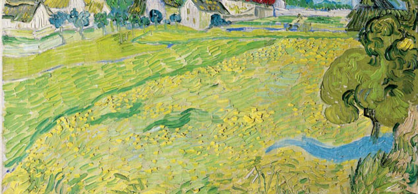 Vincent van Gogh, Les Vessenots en Auvers , Museo Thyssen-Bornemisza.
