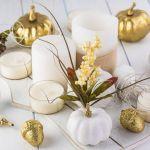 pomysły na dekoracje z białej dyni