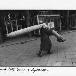 Anna Beata Bohdziewicz, Styczeń 1989. Sama z dywanem z cyklu Fotodziennik, czyli piosenka o końcu świata , 1989