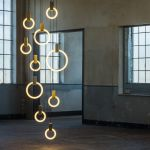 Modułowy system lamp Halo, Matthew McCormick, mesmetric.com