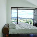Piero Lissoni biała sypialnia minimalizm