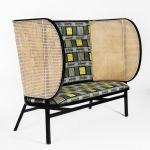 meble z rattanu projekt fotela