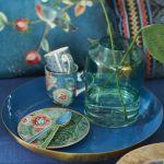 niebieskie dekoracje