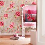 pip studio tapeta w róże
