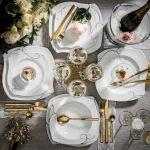 Dekoracje stołu na sylwestra