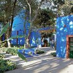 niebieski dom ogród