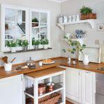 biała kuchnia małe wnętrze