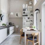 biała kuchnia stylowe wnętrze
