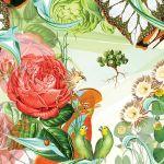 Botaniczne grafiki Bożki Rydlewskiej