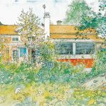 Carl Larsson, Chatka , album W domu , 1899 r.