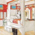 Carl Larsson, plansza nr 10, album W domu , 1899 r.
