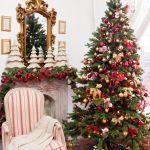 choinka świąteczna wystrój wnętrza