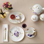Dekoracje wielkanocne porcelana w kwiaty