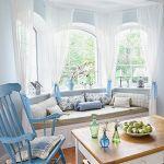 Dekoracje zrobione przez właścicielkę, bujany fotel kupiła w Offdesign.
