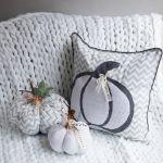 biała dynia pomysły na dekoracje do domu