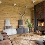 Dizajn z naturalnym klimatem mazurskiej wsi i pamiątkami z różnych stron świata.