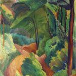 Droga, las prowansalski , 1919 r. Maurycy Mędrzycki: poeta prowansalskiego pejzażu