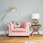 fotel vintage rose berkley