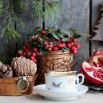 golteria stroik świąteczny