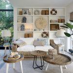 Salon w nowoczesnym stylu naturalne kolory