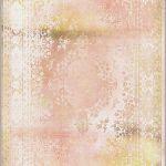 dywan orientalny różowy
