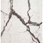nowoczesny dywan jak marmur