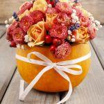 Jesienna dekoracja z dyni, nie tylko na Halloween